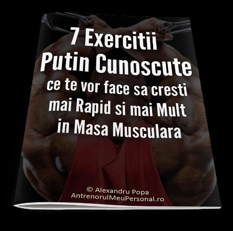 7 Exercitii Putin Cunoscute pentru Masa Musculara Rapida