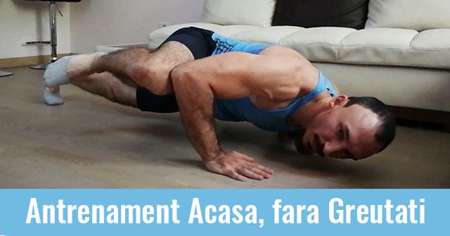 Apasa aici pentru Antrenamentul Acasa