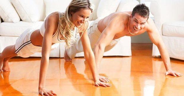 Fitness Acasa - Antrenament Incepatori in doar 10 minute