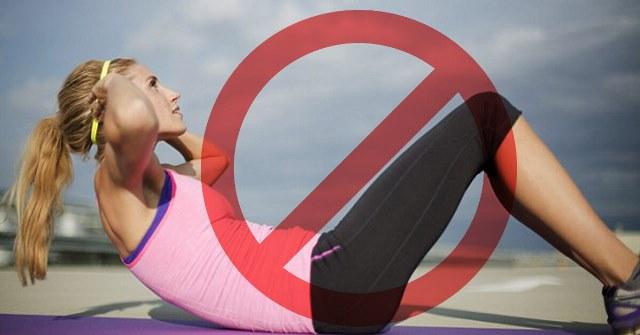 Cele mai bune exercitii pentru abdomen - nu abdomene nu chrunchuri
