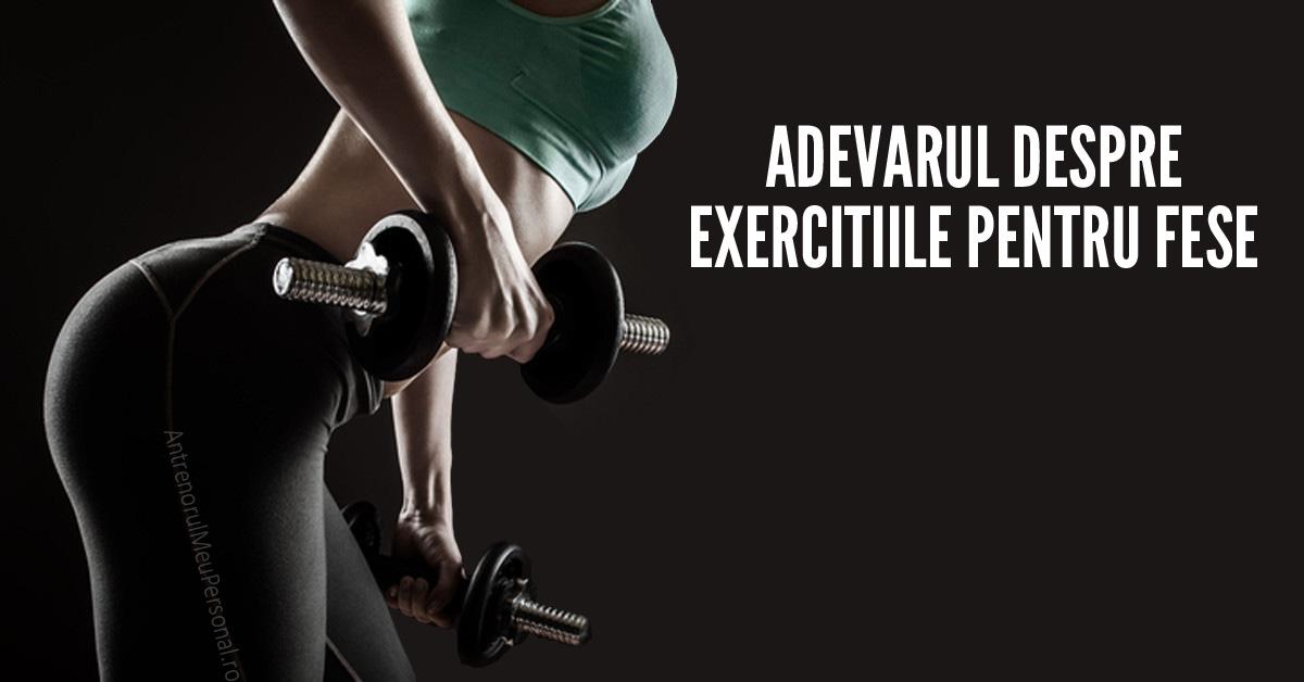 Exercitii fese rotunde