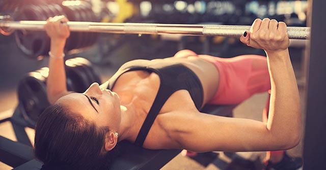 Exercitii pentru piept pentru fete si femei