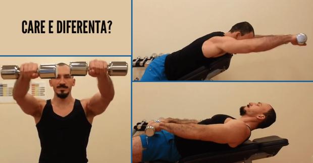 Care crezi ca e diferenta intre aceste 3 exercitii?