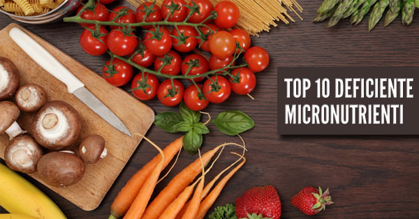 Top 10 Deficiente Micronutrienti