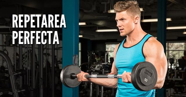 Imagine Repetarea Perfecta pentru Masa Musculara Rapida