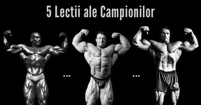 Masa Musculara - Antrenament 5 culturisti profesionisti