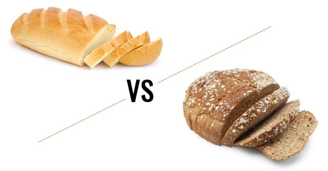 greseli alimentatie - paine alba vs integrala