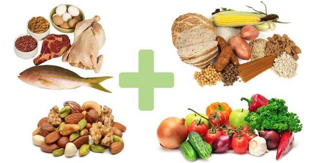 greseli nutritie - combinare alimente