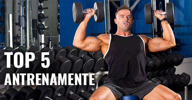 Top 5 Antrenamente Masa Musculara