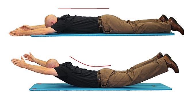 Exercitii Spate Inferior